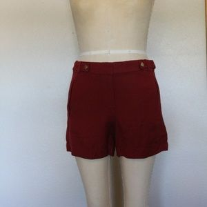 Rust colored shorts